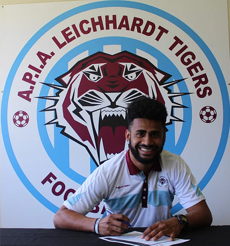 Alvin Singh Signs with APIA